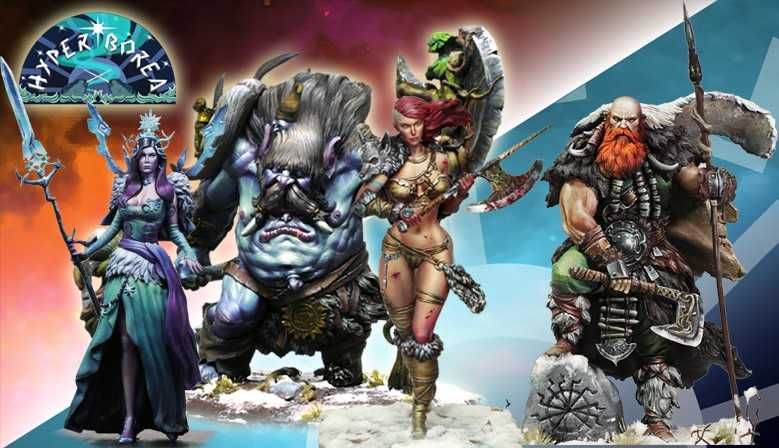 Hyperborea: The Awakening on Kickstarter